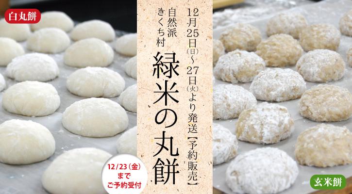 きくち村の予約餅