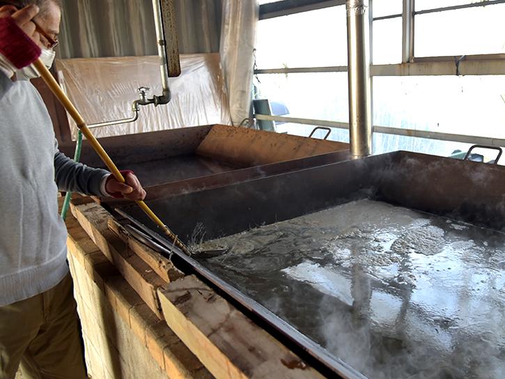 たしまっこ農園の黒糖の写真