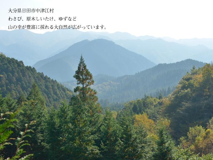 中津江の風景