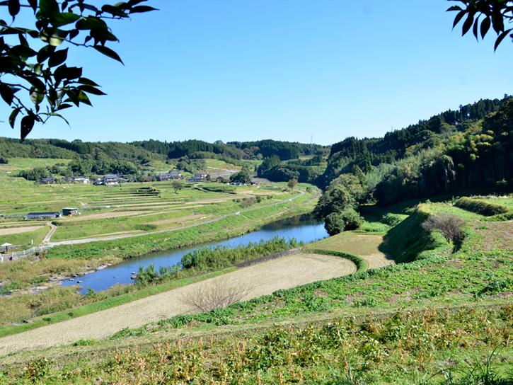 水源村と呼ばれていた木下さんの圃場の地域