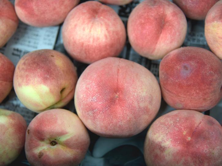 �松さんの桃