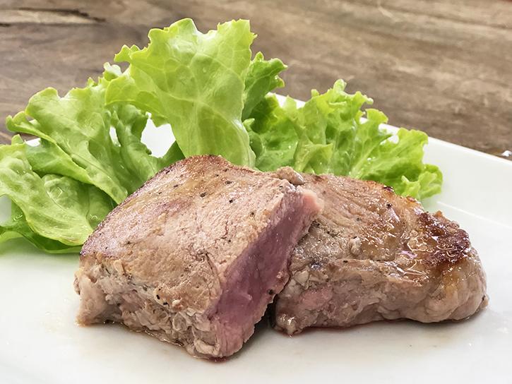 宮川ファームのジャージー牛の調理例
