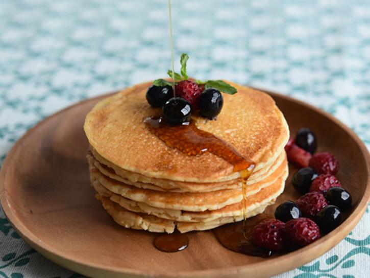 パンケーキ調理例の写真