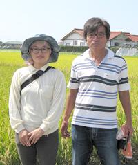 師匠「薫」稲本さんとツーショット写真