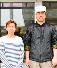 廣田かまぼこ店の2人