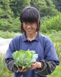 自然栽培農家・森田さん