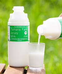 玉名牧場牛乳