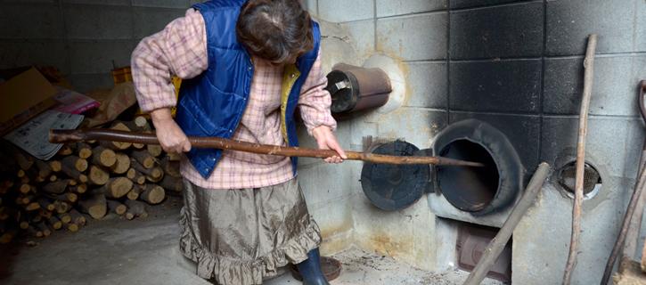 薪で火力を調節