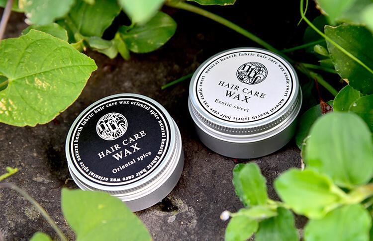 【natural hearth fabric】ヘアケアワックス(オリエンタルスパイス)30g