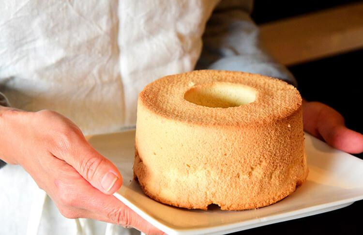 米粉のシフォンケーキ 直径約13cm【冷凍】