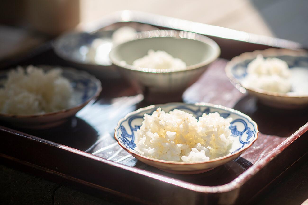 自然栽培の昔のお米