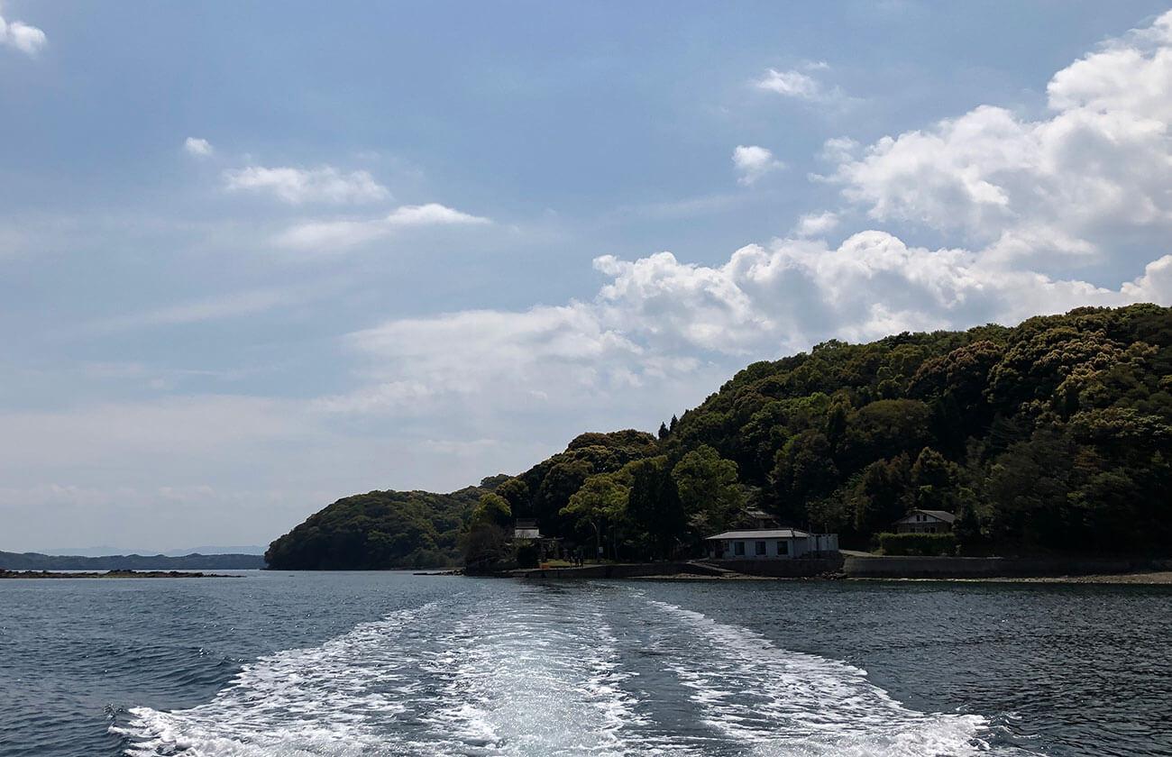 船バック産島