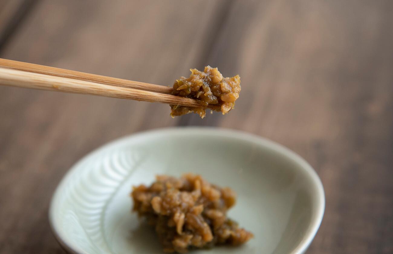 玄米たらの芽味噌