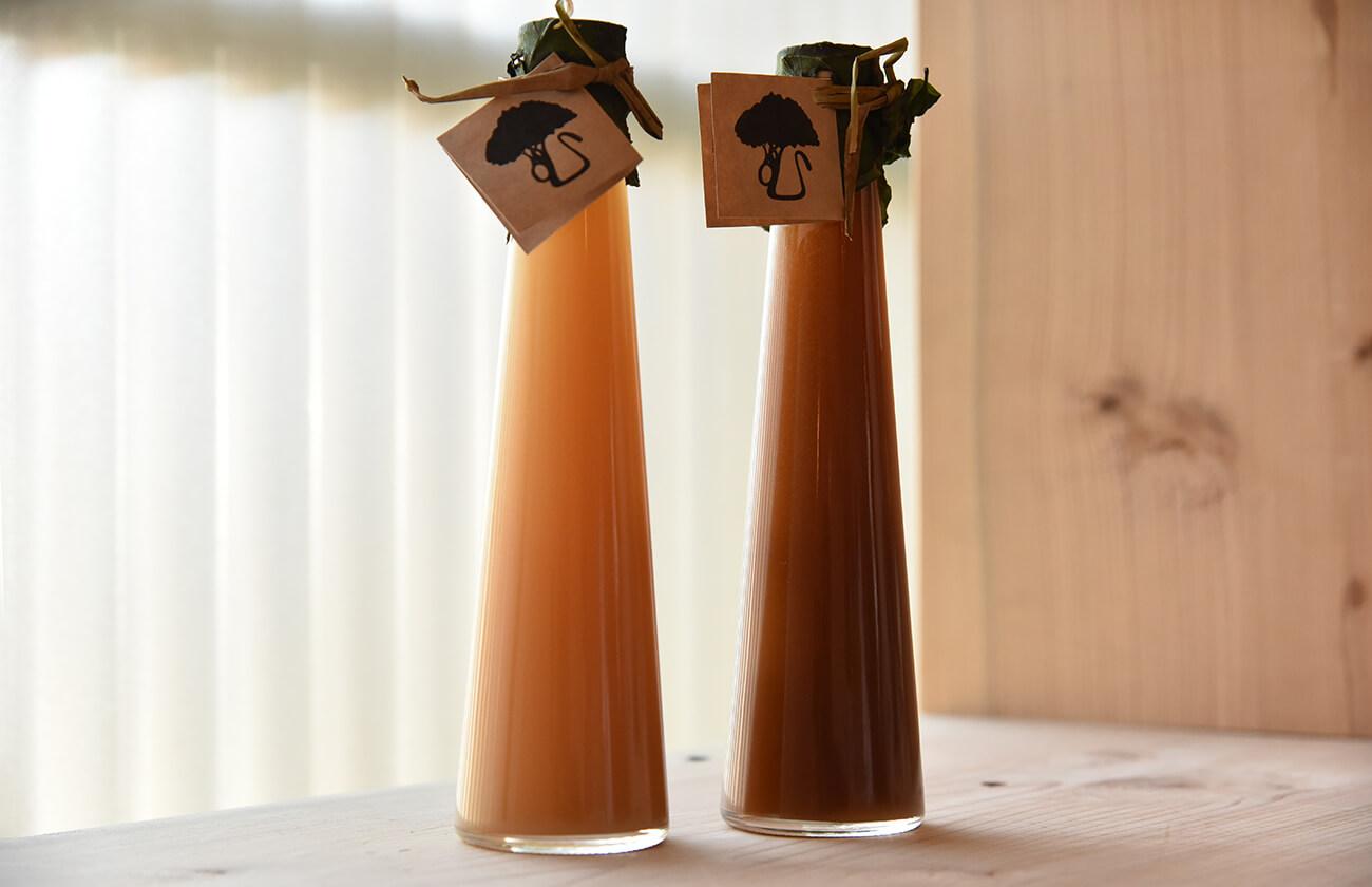 ジンジャーシロップ2種