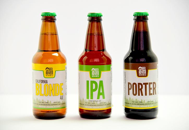 3種類のオーガニックビール