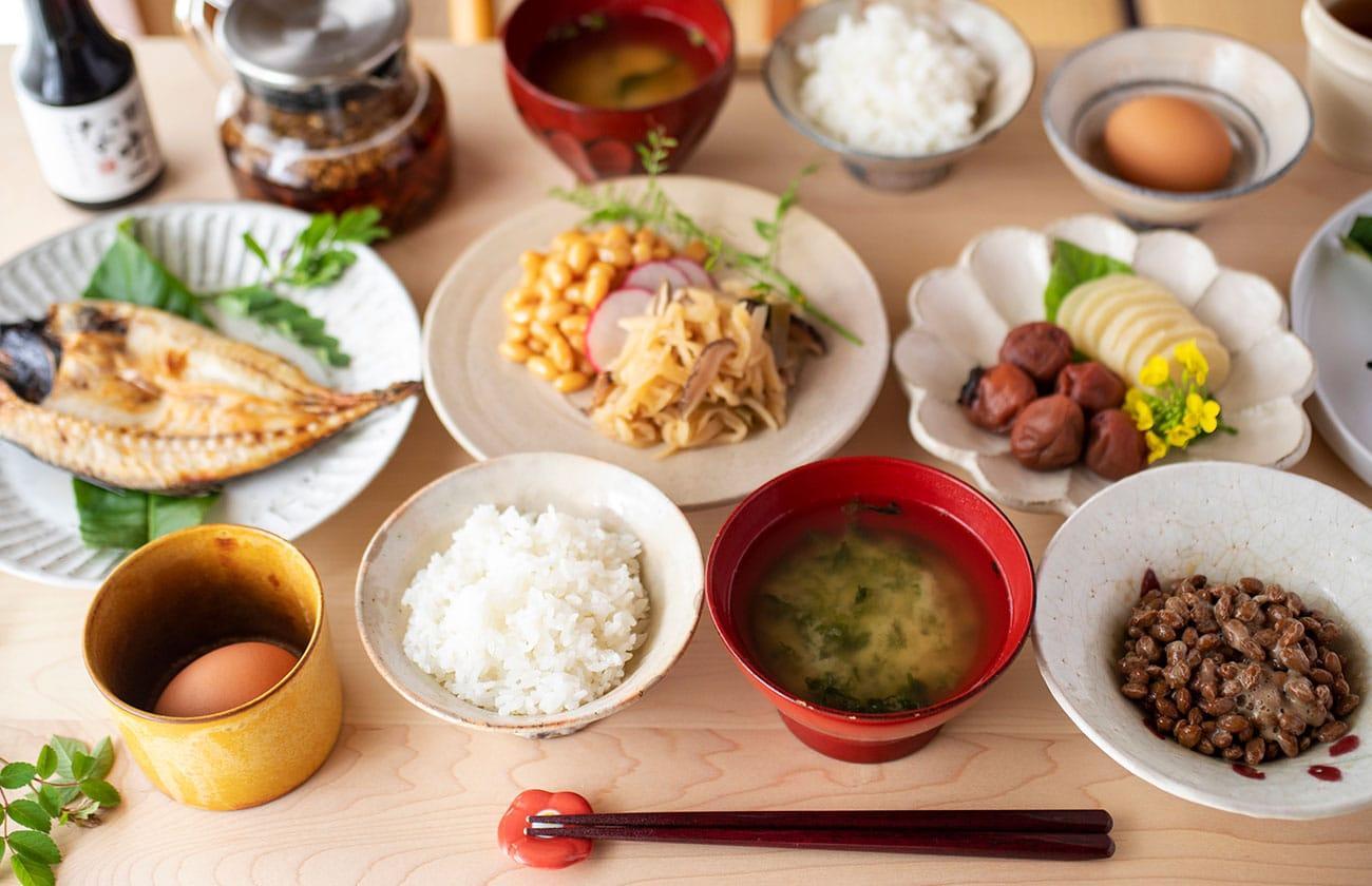 きくち村の朝食